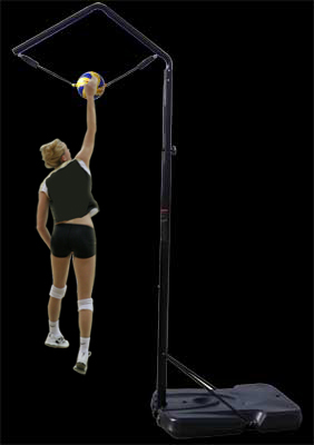 Volleyball Spike Trainer (Voleibol Spike Trainer) Practice ball contact, arm swing, and footwork techniques with the all new Portable Spike Trainer for Volleyball.