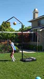 Volleyball Spike Trainer Hit - Volleyball Training Equipment - Samantha (Sami) Nydam