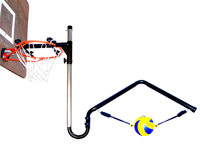 Volleyball Spike Trainer Model VST-300. Perfect your Volleyball hitting technique using the most cost-effective and durable Volleyball Spike Trainer on the market. Work on your Volleyball footwork, Volleyball Approach, Jump Technique, Volleyball Arm Swing, and Volleyball Contact.